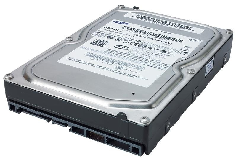 Samsung SpinPoint 400GB SATA II, 16 MB cache, 7200 RPM
