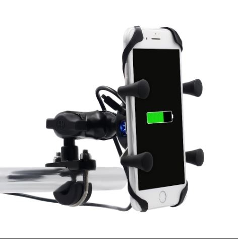WUPP GPS/Phone holder with USB great price at Chiang Rai Saddlebags