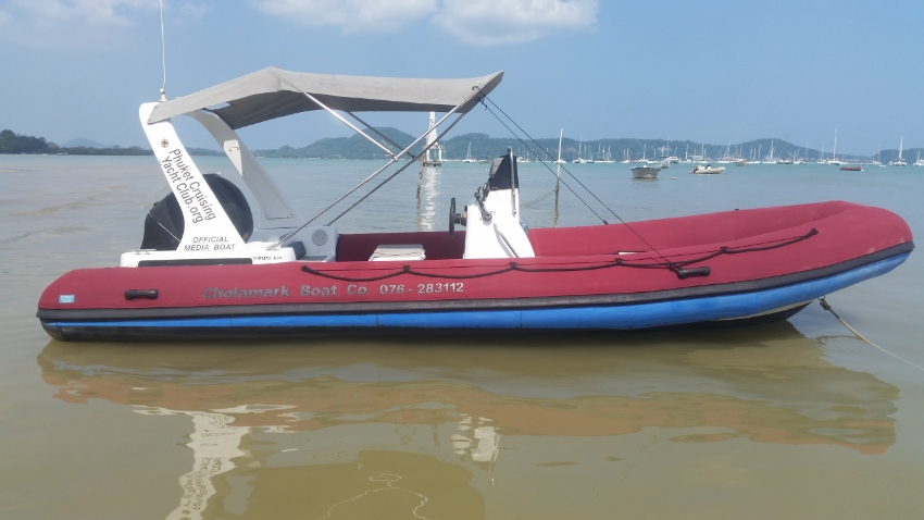 RIB 6.5 m Mercury 115 hp 4 stroke