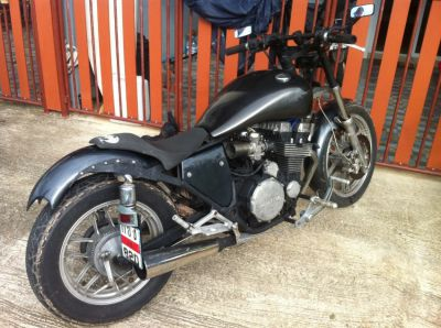 Honda 750cc CB (Nice Customize Chopper!!)