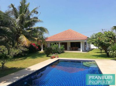Very nice 3 bedroom pool villa with tropical garden in Wang Pong area