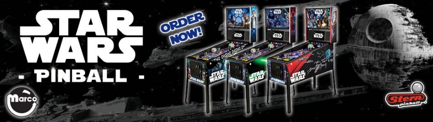 Original Stern Mechanical Pinball - Import from US - Delivery included
