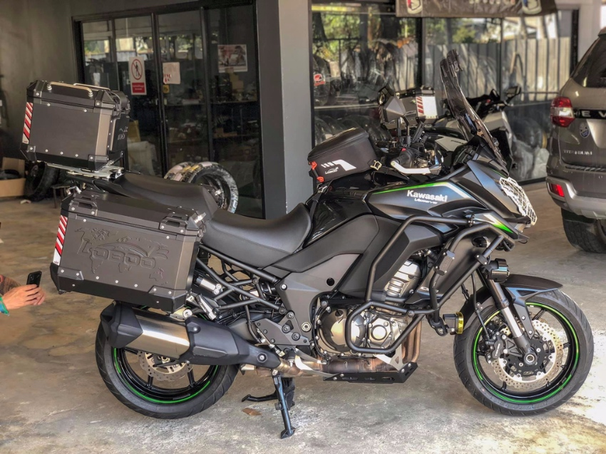 Exceptional Re-Fitted Kawasaki Versys 1000LT (Mod 2018) for sale