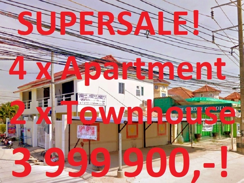 Superdeal 4x Apartment 2x Townhouse FINANCING AVAILABLE!