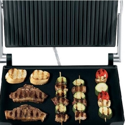Double Electric Contact Grill