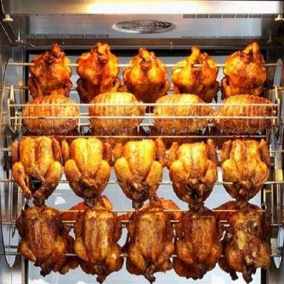 Lie Top Electric Chicken Rotisserie