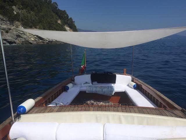 21' Classic Boat Utility Portofino - Hand Made Italian Wood Boat