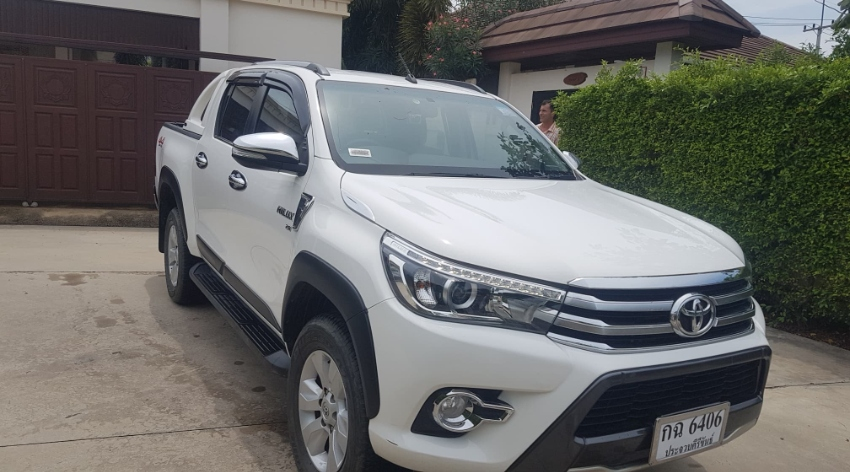 2016 TOYOTA HILUX REVO 2.8 DOUBLE CAB G PICKUP AT