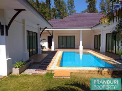 3 bed + guesthouse pool villa for sale in Khao Tao area
