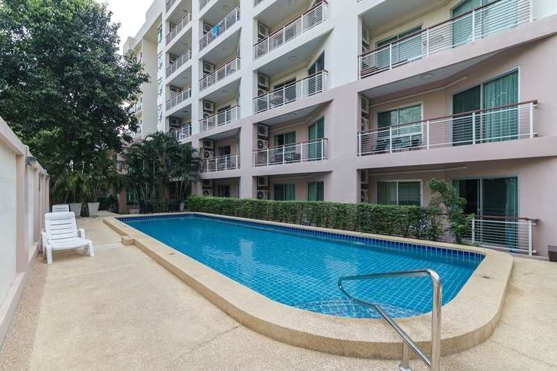 Great Views! Top Floor Fully Furnished 1 BR 1 Bath End Unit Condo