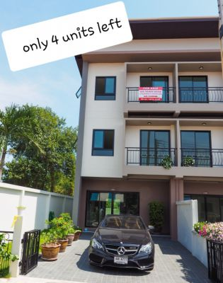 ALL INCL !!!! Best Value. NEW TOWNHOMES Starts Thb 2.995.000 only