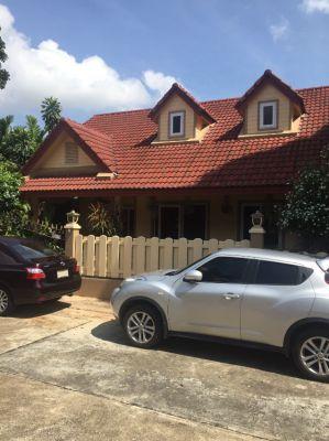 nice detached House, 3 bed, 2 bath, Eastpattaya near Wat Sutthawat