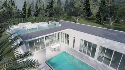 New Modern Off Plan 4 BR 3 Bath Pool Villas 10 Minutes From Hua Hin