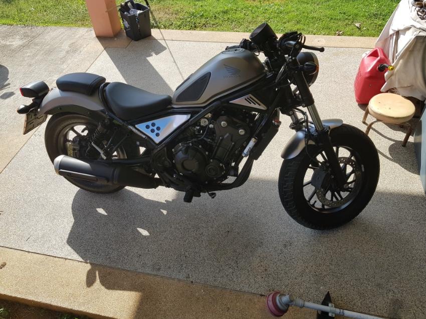 Honda Rebel 500cc