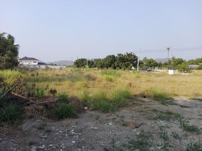 Square Shaped 1 Rai Luxury Home Building Plot 8 km From City Center