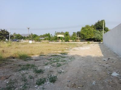 Square Shaped 1 Rai Luxury Home Building Plot 8 km From City Center