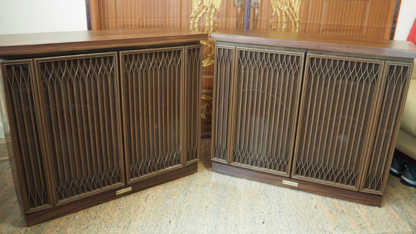 Kenwood 6-way, 8 driver speakers, very rare top quality