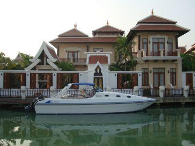 Waterfront Home for Sale Na Jomtien with Jet Ski Lift & Marina