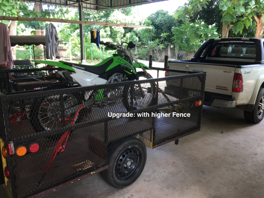 Bike- and Utility Trailer for Sale, FULLY Street legal