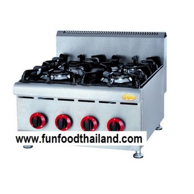 Counter Top Gas Range with 4 Burners