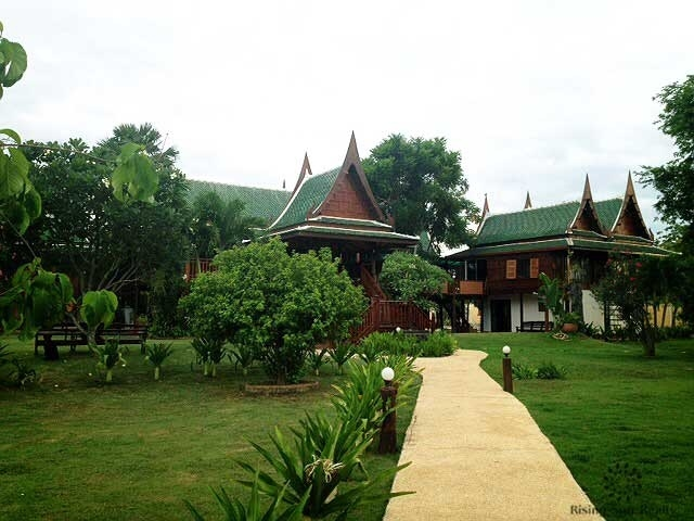 Traditional Thai style teak wood house for sale, Cha Am area