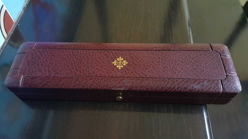 Old Patek Philippe watch box authentic