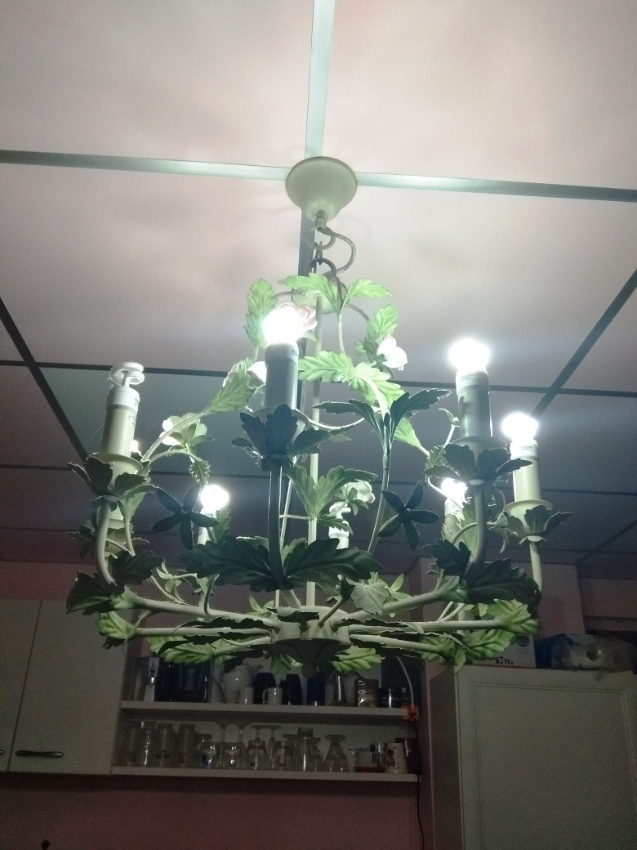 Nice chandelier and cheap !