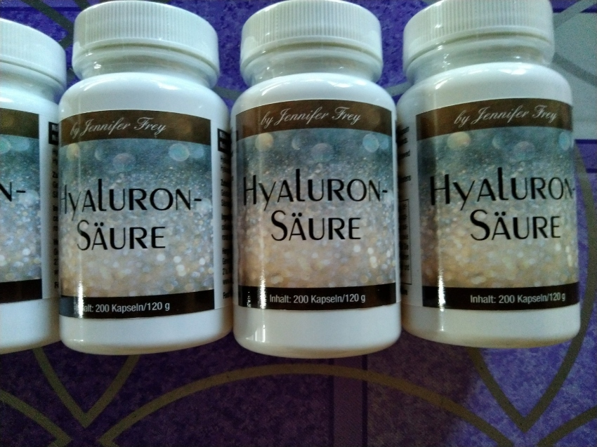 Hyaluron Capsules from GN Laboratories 120 mg pro Capsules