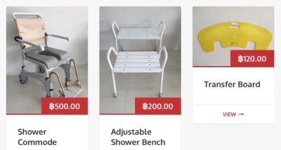 Wheelchair, Transfer Hoist, Shower Commode For Hire