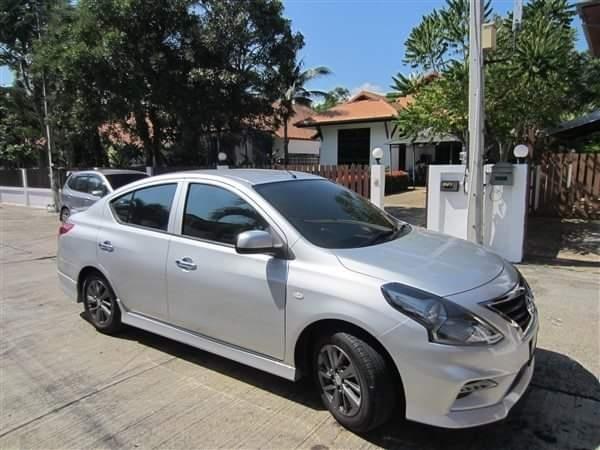 2018 Nissan Almera automatic for rent Hua Hin