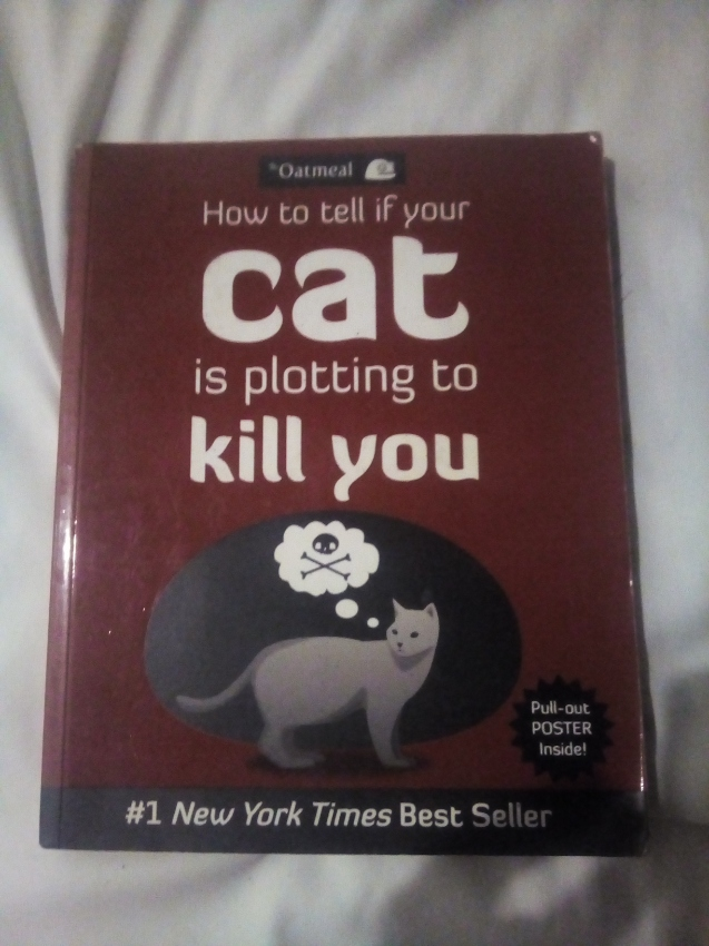 How to tell if your cat is plotting to kill you (comics book)