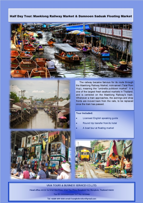 THAILAND SIGHSEEING TOURS WITH REASONABLE PRICE
