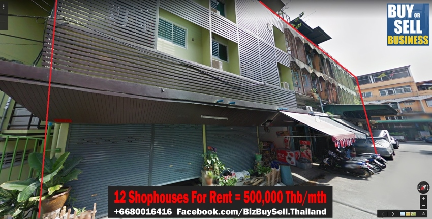 12 Shophouses For Rent