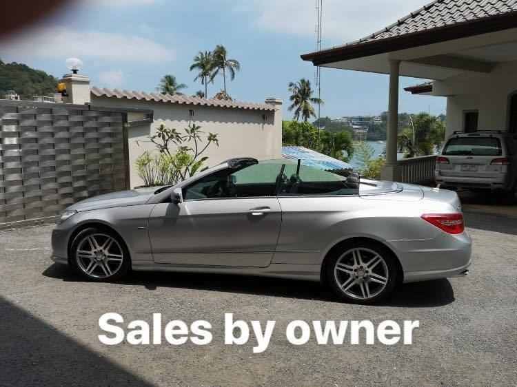 CONVERTIBLE   Mercedes Benz  E 250  in great condition and few KM !