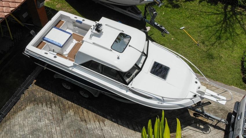 Boat-fisherman Victoria 627