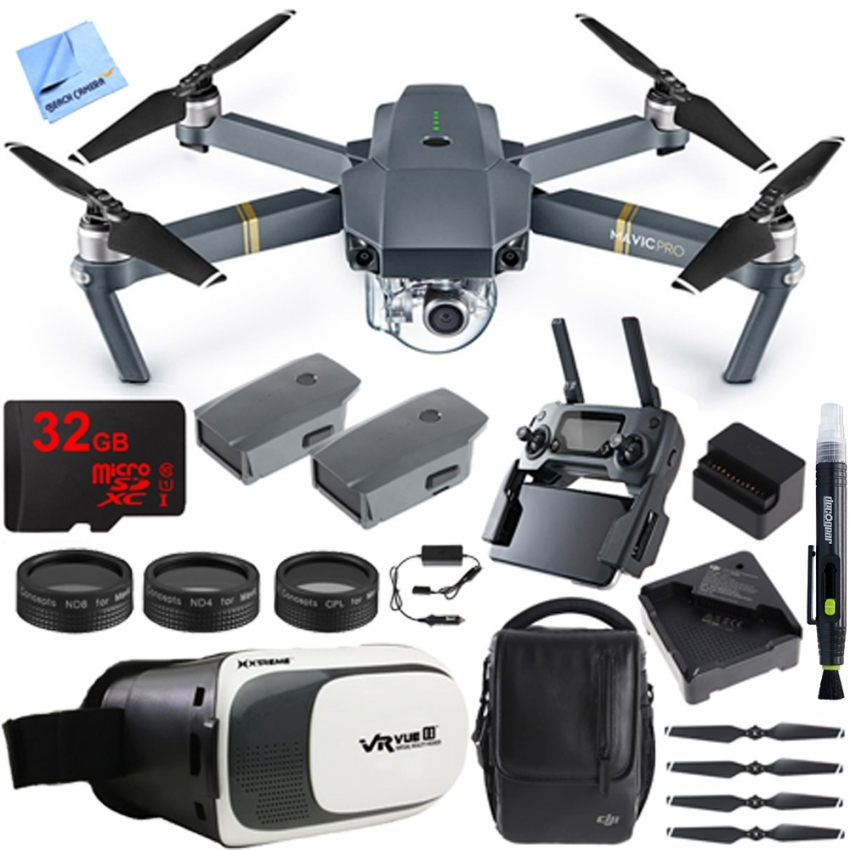 NEW DJI Mavic Pro Quadcopter Drone Fly More Combo Pack with