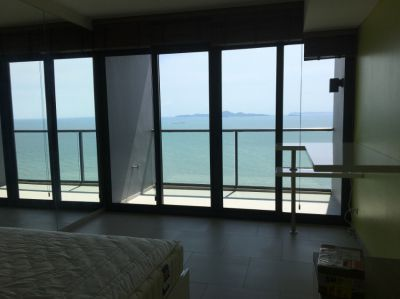 1 Million $ view studio at beachfront new luxury project at high floor