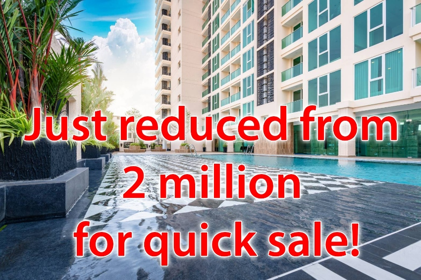 Studio in the brand new City Garden tower just reduced to 1,750,000!