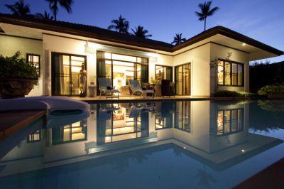 For rent wonderful 2 bedrooms pool 2 jacuzzis villa Bangrak Koh Samui