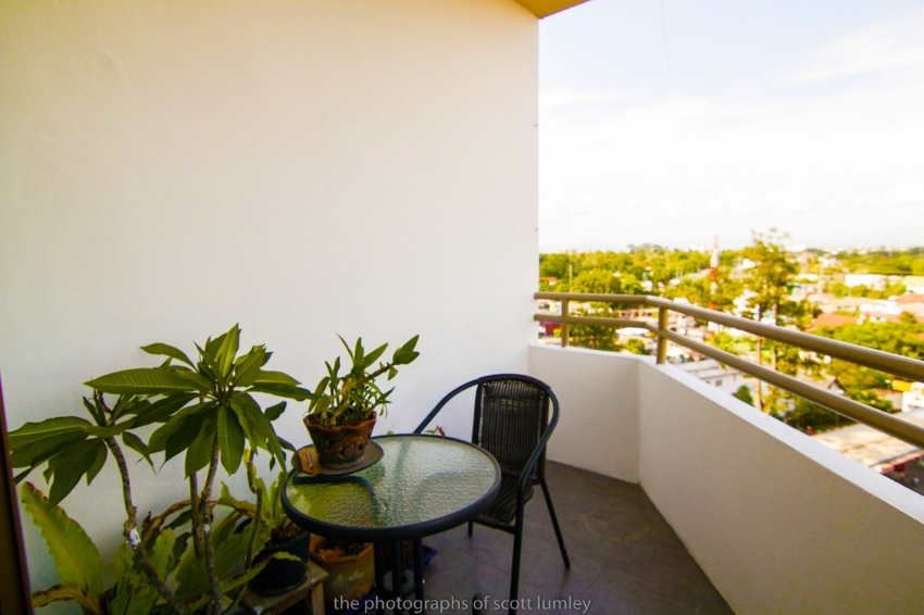 A beautiful condominium unit with a balcony, cooler side is for rent