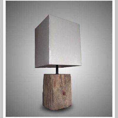 WOODBLOCK LAMP