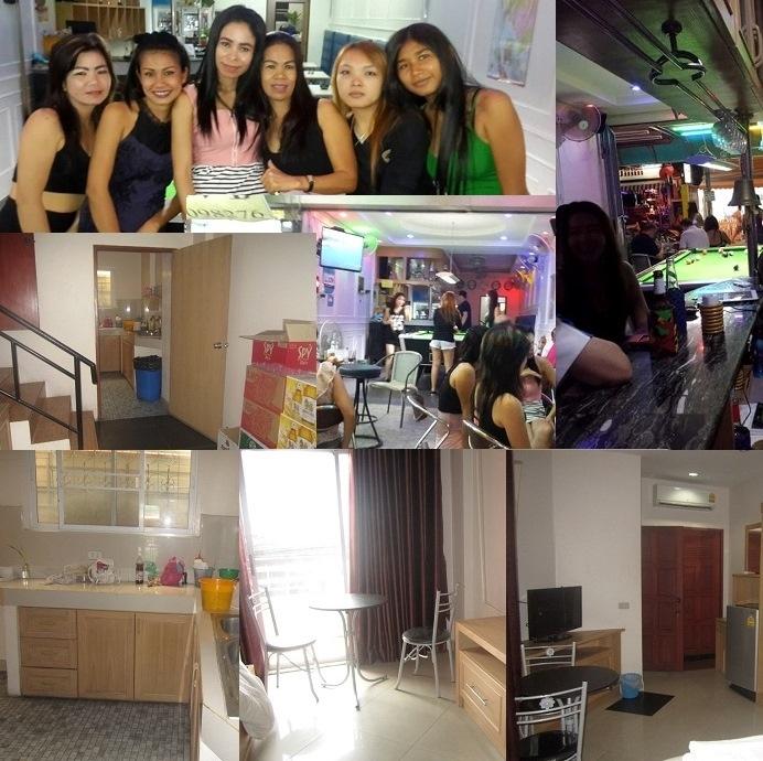 Pattaya Bhua Kao Bar with 9 Rooms SUPER DISCOUNTED