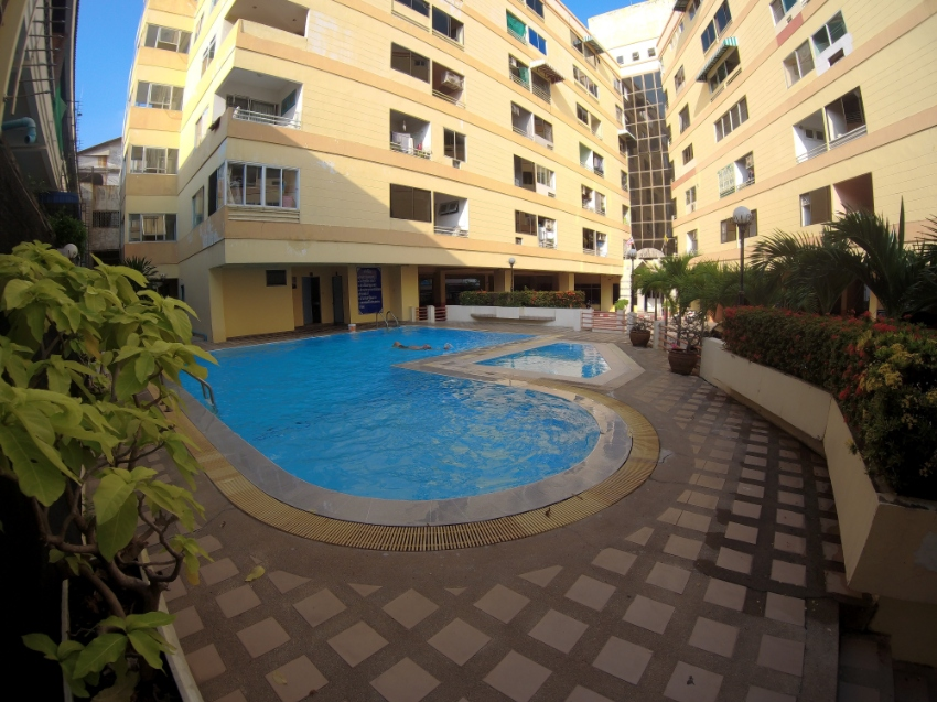Pattaya Condo For Rent: 42' TV, Pool, 7,500 THB