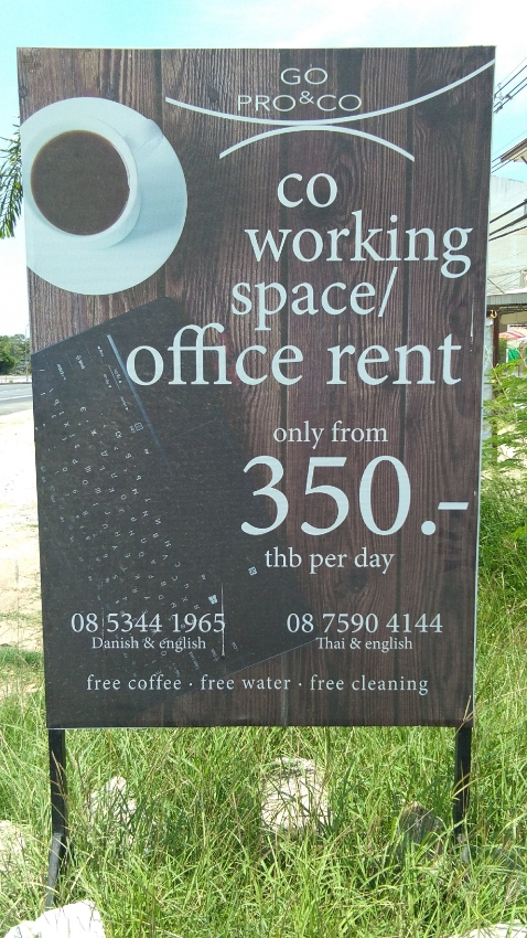 Office Space with Off Road Parking For Rent Hua HIn