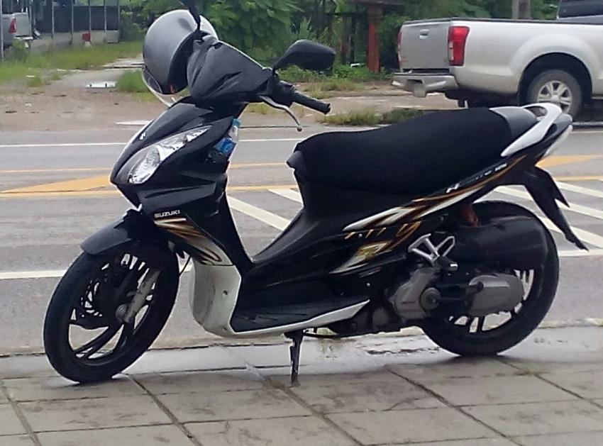 Suzuki Hayate 125cc Fi  2011