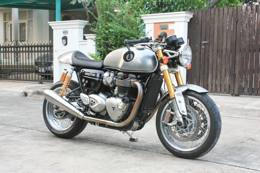 [ For Sale ] Triumph Thruxton R 2017 look like new very clean