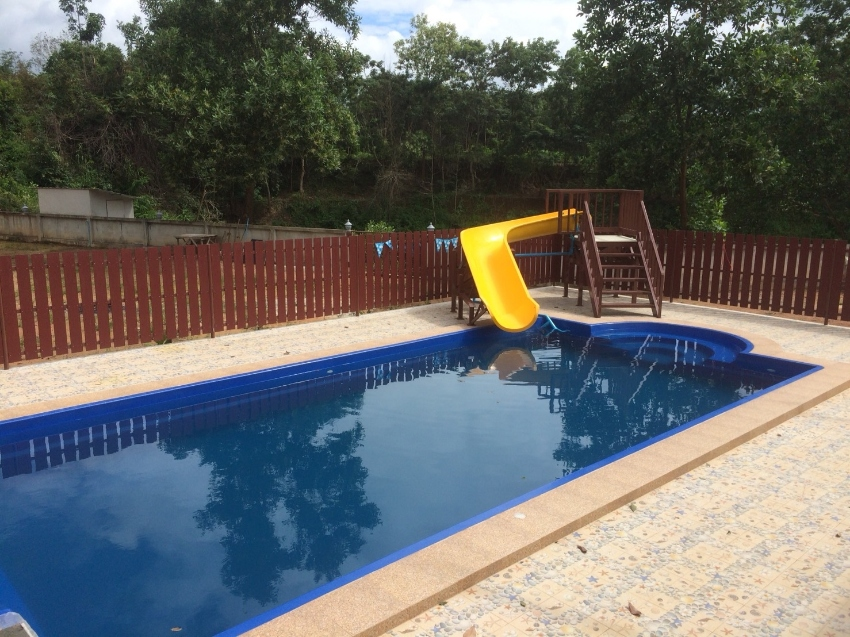 12m TAHITIAN Fiberglass Pool