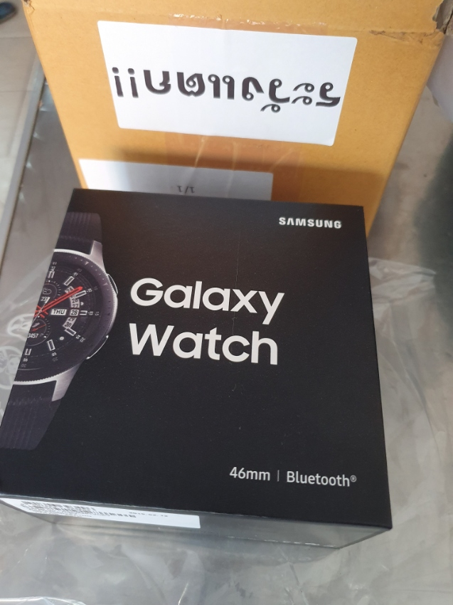 Samsung Galaxy Watch 46mm (Silver) Smartwatch NEW