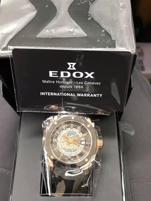 EDOX luxury wrist watch sale or trade