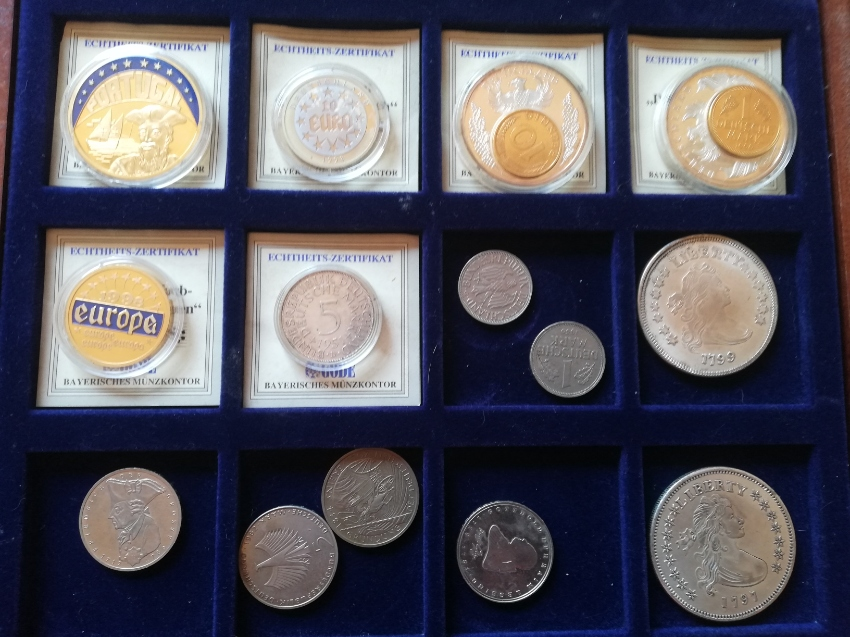 SALE! COLLECTION OF VARIOUS COINS